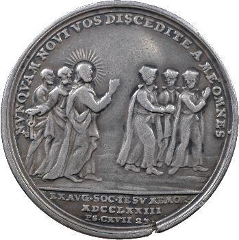 Vatican, Clément XIV, expulsion des Jésuites, 1773