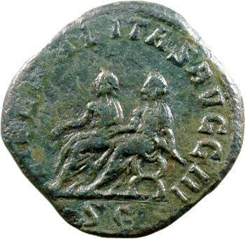 Philippe II, sesterce, Rome, 249