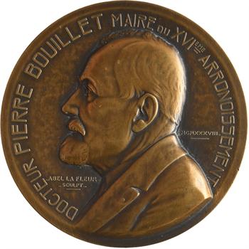 La Fleur (Abel) : hommage à Pierre Bouillet, Maire du XVIe arrondissement de Paris, 1938 Paris