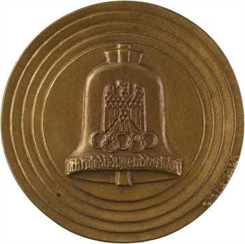 Allemagne, les XIe Jeux Olympiques de Berlin, par Otto Placzek, 1936
