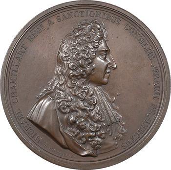 Chamillart (Michel), Ministre et Secrétaire d'État à la Guerre de Louis XIV, par Jérôme Roussel, s.d. Paris