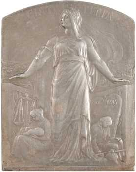 Lamourdedieu (R.) : la Faculté de Droit de Paris, en argent, s.d. Paris
