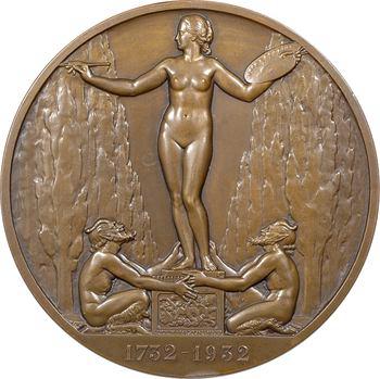 Bazor (L.) : bicentenaire de la naissance de Jean Honoré Fragonard, épreuve du revers, 1932 Paris