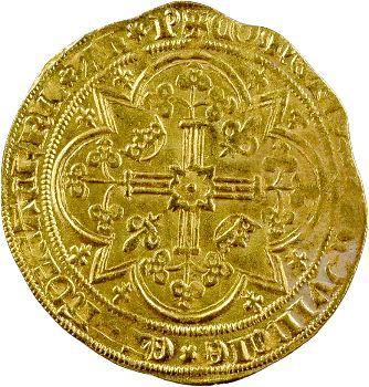 Provence (comté de), Jeanne de Naples, franc à pied ou Reine d'or