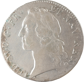Louis XV, écu au bandeau, 1764 Strasbourg