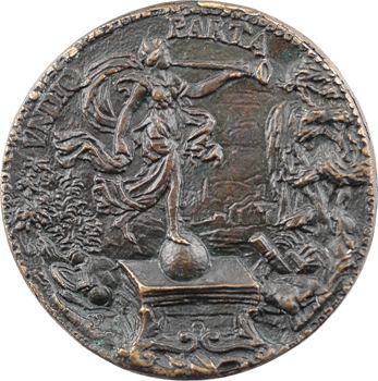 Italie, Milan, hommage à Antonio de Leiva, fonte ancienne, s.d