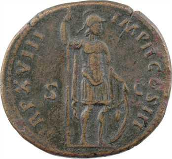 Marc Aurèle, sesterce, Rome, 163-164