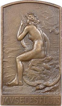 Legastelois (J.P.) : Muse des flots, fonte, s.d. Paris