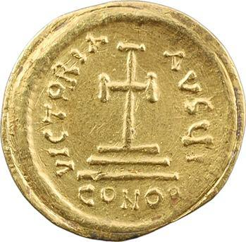 Héraclius, solidus, Constantinople, 10e officine, 610-613