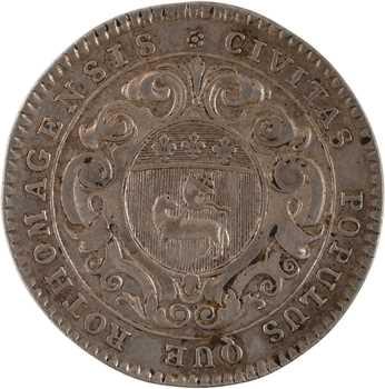 Louis XV, Normandie, la ville de Rouen, par Roëttiers, s.d. Paris