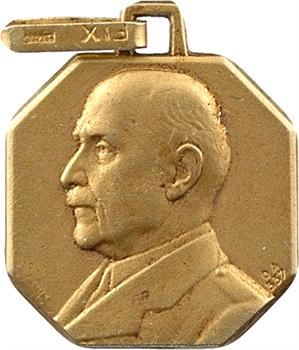 IIe Guerre Mondiale, pendentif FIX, Philippe Pétain, s.d