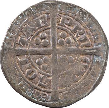Aquitaine (duché d'), Édouard le Prince noir, demi-gros, 2e émission, Limoges