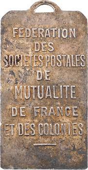 Fédération des sociétés postales mutualité France et colonies, par Pelletier, s.d