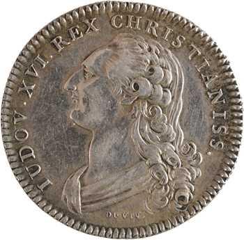 Louis XVI, chancellerie de Flandre, par Duvivier, s.d. Paris
