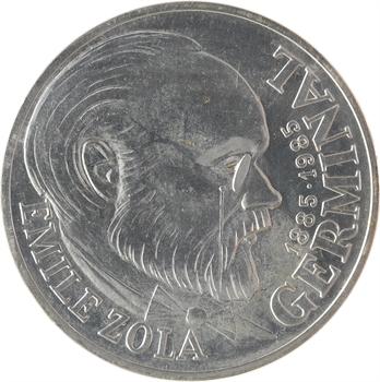 Ve République, essai de 100 francs Germinal, 1985 Pessac