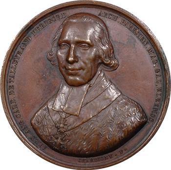 Louis XVIII, décès d'Alexandre-Angélique de Talleyrand-Périgord, 1821 Paris
