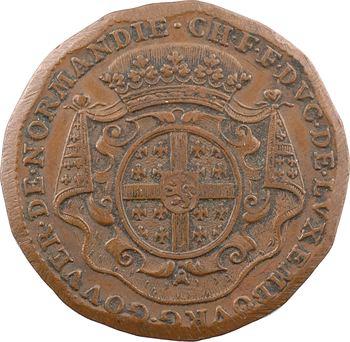 Normandie, Rouen (ville de), Charles de Luxembourg et les monnayeurs, 1711