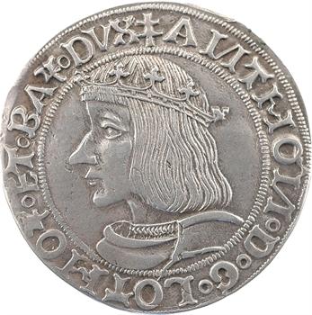 Lorraine (duché de), Antoine, teston, 1516 Nancy