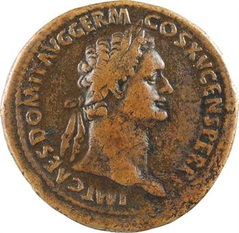 Domitien, sesterce, Rome, 86
