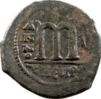 Tibère Constantin, follis, Antioche, 578-579