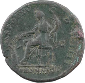 Antonin le Pieux, sesterce, Rome, 151-152