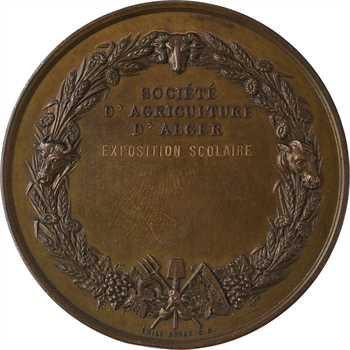 Algérie, Société d'agriculture d'Alger, concours de 1876