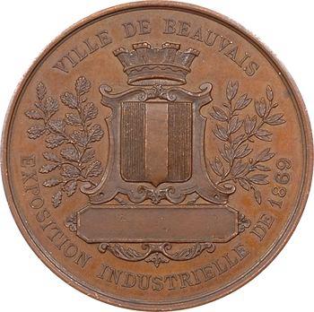 Second Empire, exposition industrielle de Beauvais, 1869 Paris