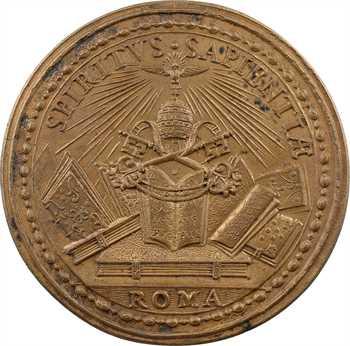 Vatican, Adrien VI, médaille annuelle, s.d. (1522-1523 postérieure)