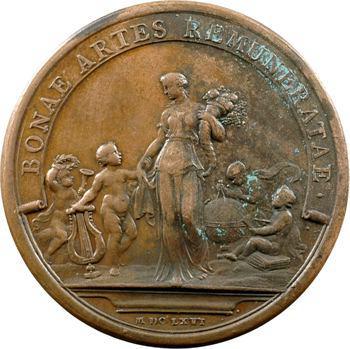 Louis XIV, gratifications accordées aux gens de lettres par Mauger, 1666 Paris