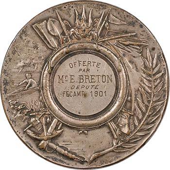 IIIe République, prix offert par le député Breton à Fécamp, 1901 Paris