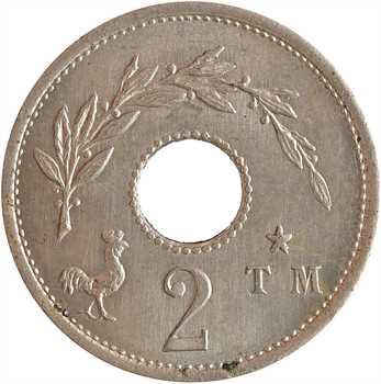 IIIe République, essai de 2 centimes, 1890 Paris
