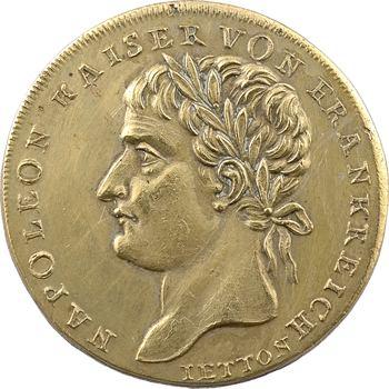 Allemagne, exil et mort de Napoléon à Sainte Hélène, par Lauer, 1821