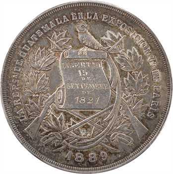 Guatémala, présence à l'Exposition Universelle de Paris, 1889