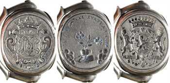 Ancien Régime, sceau-étrier de mariage, s.d
