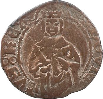 Louis XI, hardi 1er type, 2e émission, Bordeaux