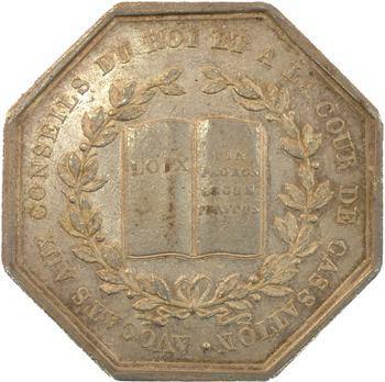 Paris, avocats aux conseils du Roi et en cassation, s.d. (1815-1824) Paris
