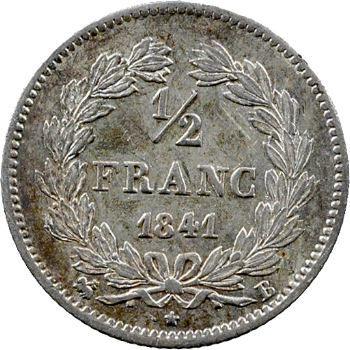 Louis-Philippe Ier, 1/2 franc, 1841 Rouen