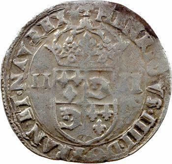 Henri IV, quart d'écu du Dauphiné, 1603 Grenoble