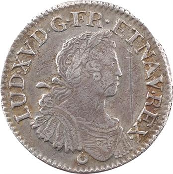 Louis XV, quart d'écu aux huit L, 1725 Tours