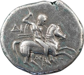 Calabre, Tarente, didrachme au nom d'Aristoklès, c.272-235 av. J.-C.