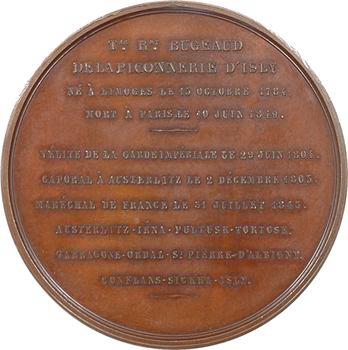 Algérie, Bugeaud maréchal et duc d'Isly, gouverneur de l'Algérie, par Rogat, 1849