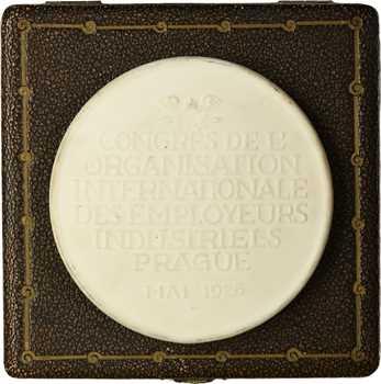 République Tchèque, Jules Carlier et le Congrès de l'organisation internationale des employeurs industriels, par Muller?, 1926 Ostrov