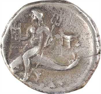 Calabre, Tarente, didrachme au nom de Philménos, 272-235 av. J.-C.