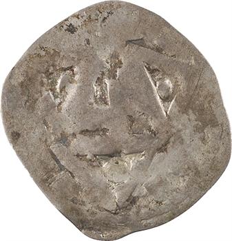 Normandie, au nom de Richard II ou Guillaume le Conquérant (?), denier aux trois frontons, s.d. (1035-1087) Rouen
