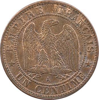 Second Empire, un centime tête laurée, 1870 Paris