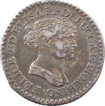 Italie, Lucques et Piombino, 1 franco, 1807 Florence