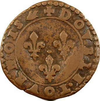 La Ligue (au nom d'Henri III), double tournois 3e type, s.d. (1591-1592) Paris