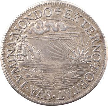 Pologne, élection de Henri (futur III de France) comme Roi de Pologne, médaille ou jeton anonyme (Olivier Aubin ?), [1573] refrappe, Paris