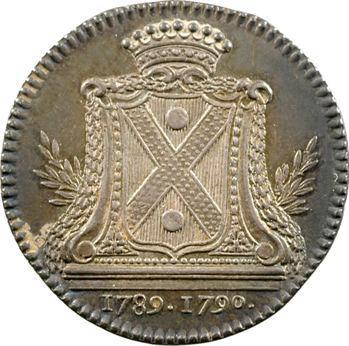Bretagne, Nantes (mairie de), Christophe de Kervégan, maire, 1789-1790