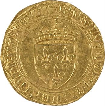 Charles VIII, écu d'or au soleil, 1re émission, Tours